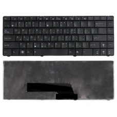 Клавиатура для ноутбука Asus F82, K40, K40A, K40C, K40E, K40I, P80, P81, X8 Черная