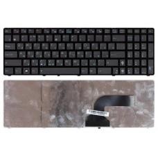 Клавиатура для ноутбука Asus K53S, K53E, A53, G72, G73, K52, K72, K73S, X52, X64, X72, X73 Черная, с рамкой