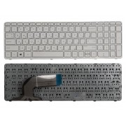 Клавиатура для ноутбука HP 350 G1, 350 G2, 355 G2 Белая, с рамкой